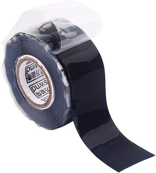 Gocableties /R/éparation /étanche/ /19/mm x 5/m/ /Rouleau de haute qualit/é Adh/ésif caoutchouc auto-amalgamant noir de qualit/é premium/