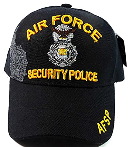 Image Unavailable. Image not available for. Color  Fashion Military Hats - Air  Force Security Police Ball Caps ea26b2b55be