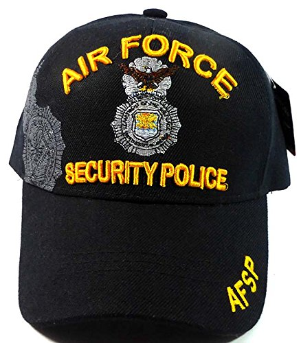 Amazon.com   Fashion Military Hats - Air Force Security Police Ball Caps    Sports   Outdoors d628d82a2d9