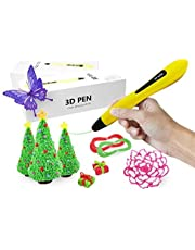 3D Pen for Kids and Adults, Newest Low Temperature 3D Printing Pen with OLED Display and PCL Filaments  Doodle Drawing Model Making, Arts and Crafts, Perfect Gifts for Girl and Boys   Decospark