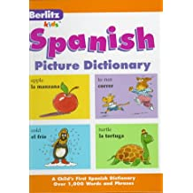 Berlitz Kids Picture Dictionaries Spanish