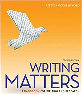 The mcgraw hill reader issues across the disciplines gilbert writing matters a handbook for writing and research comprehensive edition with exercises fandeluxe Images
