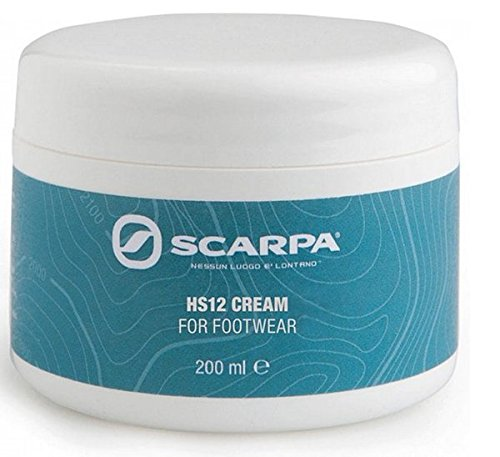 Scarpa Men's Hs12 Cream And Free Polishing Cloth 100ml Neutral from SCARPA