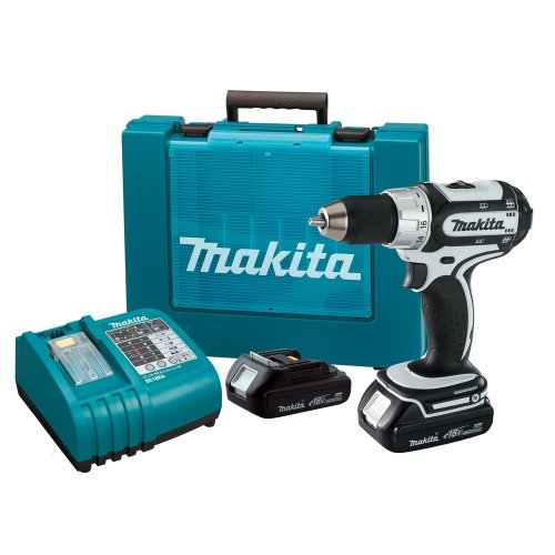 (Makita BDF452HW 18-Volt Compact Lithium-Ion Cordless 1/2-Inch Driver-Drill Kit (Discontinued by Manufacturer) )