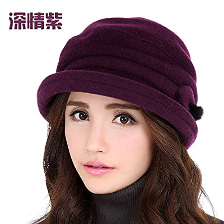 YXLMZ  Women s Winter Crochet Hat Knitted Beanie Warm Cap warm autumn  winter hats curling hat b0760916df7c