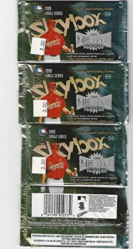 - Metal Universe 1999 Skybox Baseball Hobby Pack lot of 5
