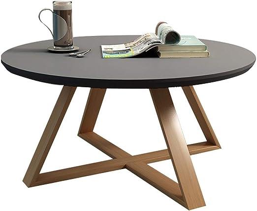 Amazon Com Coffee Tables Solid Wood Round Combination Mini Tatami
