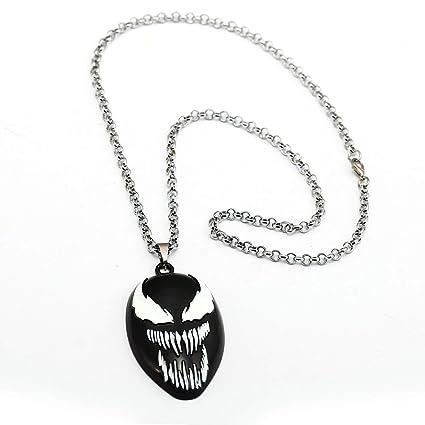 Amazon.com: Value-Smart-Toys - Dark Superhero Venom Necklace ...