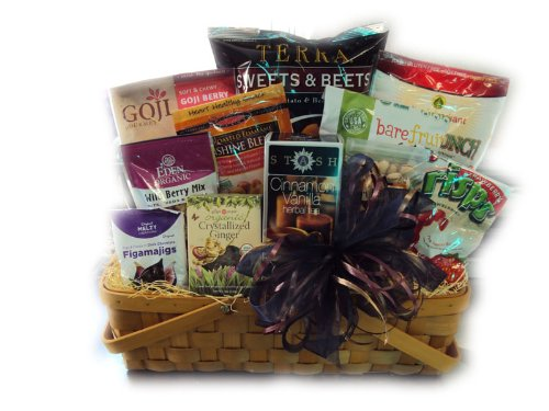 Antioxidant Bounty Healthy Gift Basket by Well Baskets by Well Baskets