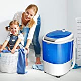 COSTWAY Mini Washing Machine with Spin