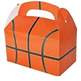 DOMAGRON Basketball Party Treat Box (Pack of 12)