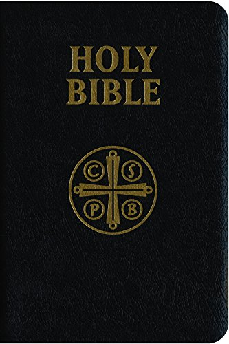 Douay-Rheims Bible (Black Genuine Leather): Standard Print Size