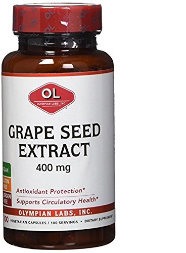 Olympian Labs Grape Seed Extract 400 Mg, 100 ct