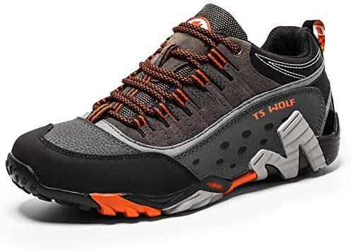 ハイキングシューズ メンズ レディース 防水 軽量 トレッキングシューズ 滑り止め 耐摩耗性 登山靴 男女兼用