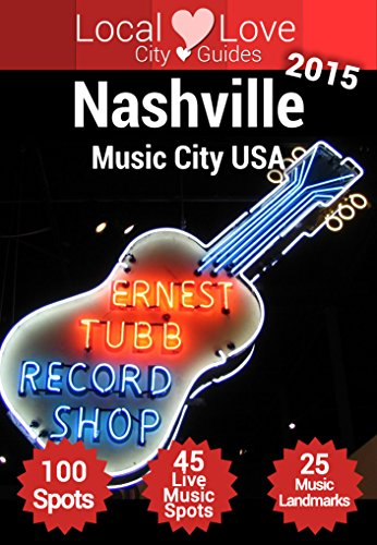 Nashville Music City USA Tennessee ebook product image