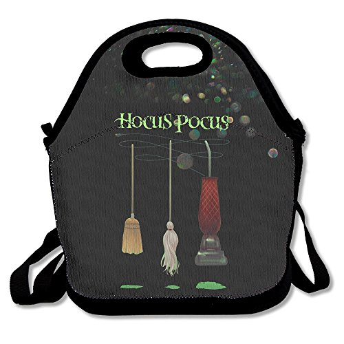 Pocus Hocus For Toddlers Costumes (Bakeiy Hocus Pocus Lunch Tote Bag Lunch Box Neoprene Tote For Kids And Adults For Travel And Picnic)