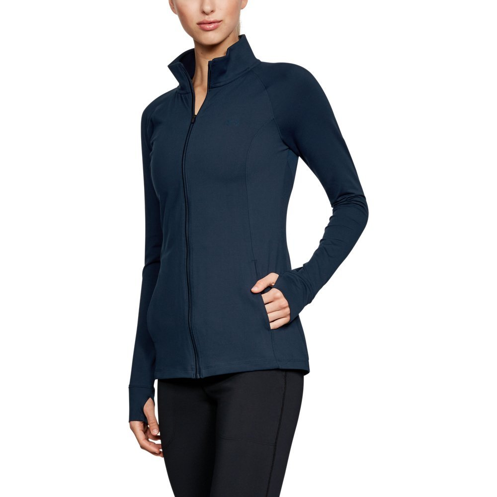 Under Armour Women's Zinger Full Zip, Academy (408)/Academy, Small by Under Armour