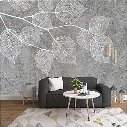 Carta Da Parati Moderna Per Soggiorno.Carta Da Parati Fotografica 3d Personalizzata Nordic Moderna