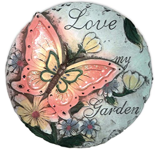 large-garden-stepping-stones-with-saying-and-sparkly-butterfly-welcome-love-love-my-garden