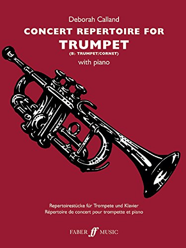 Concert Repertoire For Trumpet (Faber Edition: Concert Repertoire)