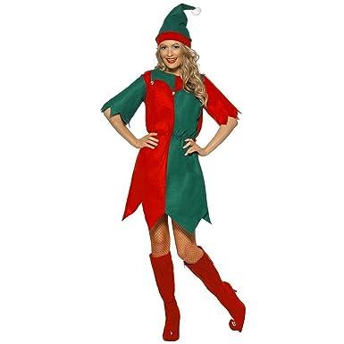 BRAND NEW PAPY, Elf Dress Costume Christmas Fancy Dress (S) - Amazon.com: BRAND NEW PAPY, Elf Dress Costume Christmas Fancy Dress