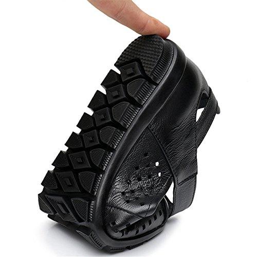 La Primavera Y El Verano, Modelos De Cabeza Hueca Plana Calzado Casual Zapatos Zapatos Negro