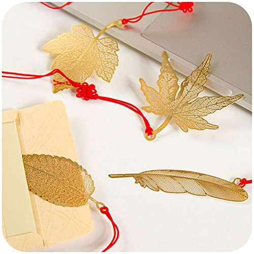 KOOTIPS Different Feather Bookmark Chirstmas