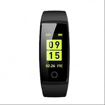 Pulsera Actividad Inteligente con Contador de Pasos Pulsómetro Reloj Alarma y Cronómetro Seguimiento de calorías Reloj sport para SmartPhones iPhone y ...