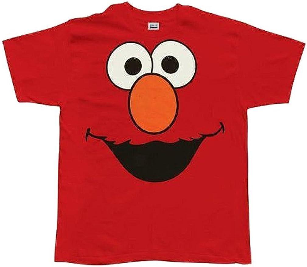 Juvenile Sesame Street Elmo Face T Shirt