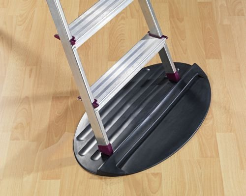Spring offer, stopper mat for step ladder, telescopic ladder, ladder, wooden ladder, stool etc. Protection on all floor types and free from damage on wooden floors, tiles and floors. 3Pagen