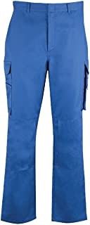 Alexandra STC-NF530RO-16T Essential Women's Kneepad Trouser, Plain, 65% Polyester/35% Cotton, Tall, Size 16, Royal