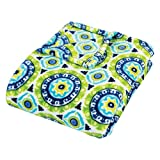 Trend Lab Plush Multi Waverly Throw Blanket, Solar Flair