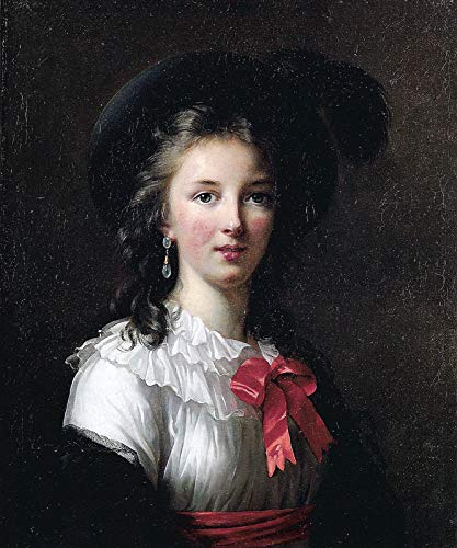 (Elisabeth Vigee-Lebrun Self-Portrait 1782 Kimbell Art Museum - Fort Worth 30
