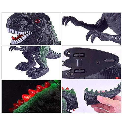 LtrottedJ Walking Dragon Toy Electric Roaring Tyrannosaurus Rex Dinosaur -