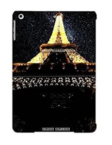 Special Standinmyside Skin Case Cover For Ipad Air, Popular Eiffel Tower Paris Lights Tower Stars France Photo Manipulation Deep Space Phone Case For New Year's Day's Gift