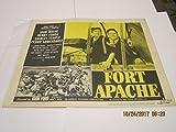 1953 quot; Fort Apachequot; John Wayne Shirley Temple Lobby Card bxlc