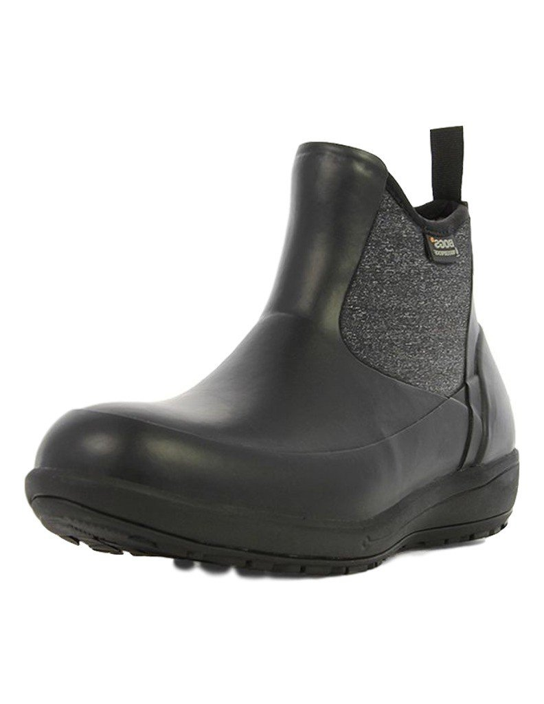 Bogs Women's Cami Low Black Boot 10 B (M)