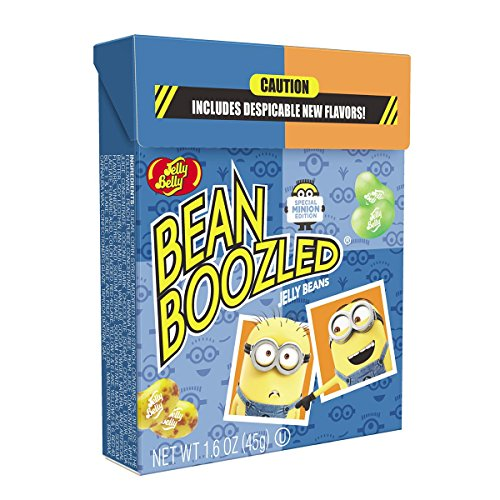 1.6oz BeanBoozeld Jelly Belly Jelly Beans Minion Edition Fli
