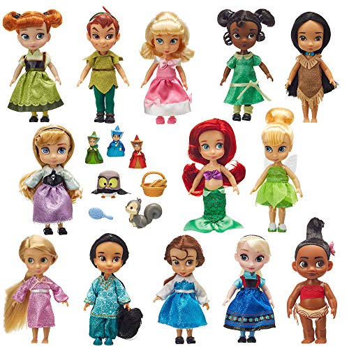 Disney Animators' Collection Mini Doll Gift Set - 5 Inch -