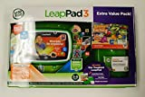 LeapFrog LeapPad 3 Extra Value Pack - Green Tablet + Letter Factory Game Download + Gel Skin + $15 DLC card - Ages 3-9 [LeapPad]