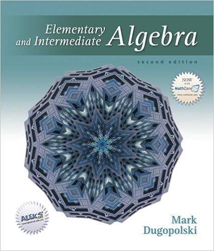 Elementary And Intermediate Algebra Mark Dugopolski