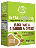 Early Foods - Instant Ragi, Almond & Date Porridge Mix 200g - Indian Baby Foods - Vegan Baby Food, 100%Plant Based Baby Food