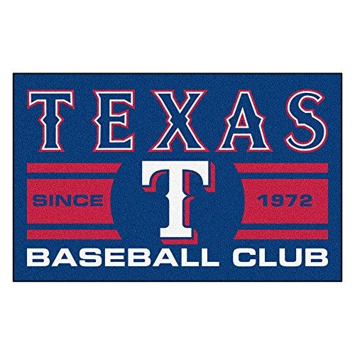 Texas Rangers Baseball Rug - 1