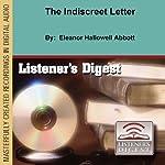The Indiscreet Letter   Eleanor Hallowell Abbott