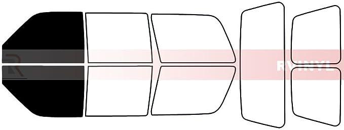 4 Door Rtint Window Tint Kit for Chevrolet Tahoe 1995-1999 - Back Kit 20/%