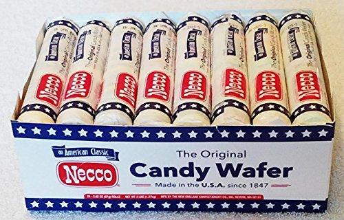 Necco Original Wafer, 2.02-Ounce (Pack of ()