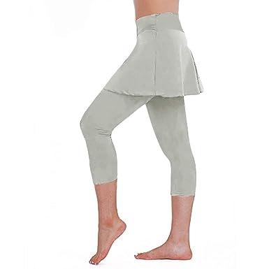 QIMANZI Leggings para Mujer, 3/4 de Longitud, Pantalones de ...