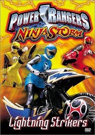 Power Rangers Ninja Storm: Lightning Strikes Reino Unido DVD ...