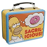 Vandor 67070 The Simpsons Large Tin Tote, Yellow