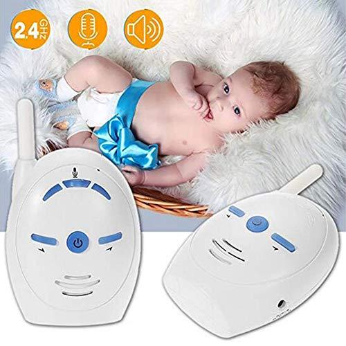 Inalámbrico Niño Bebé Monitor Walkie Talkie Audio Radio Nanny Intervenir Bebé Teléfono Alarma Portátil Eléctrico...